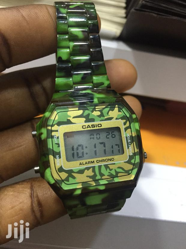 Archive: Casio Illuminator Army Color Watch