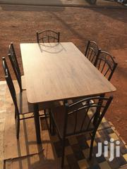 Wooden Table With 6 Chairs | Furniture for sale in Greater Accra, Dansoman