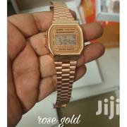 Brand New Casio Classic Digital Watch A168W Rose Gold/Vintage Design | Watches for sale in Greater Accra, Dansoman