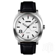 SKMEI 1466 Mens Black Leather Strap Watch | Watches for sale in Greater Accra, Achimota