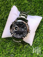 Casio Edifice Analogue and Digital Silver Watch | Watches for sale in Greater Accra, East Legon