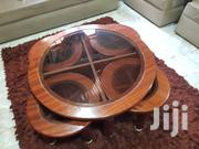 Glass/Wooden Centre Table | Furniture for sale in Greater Accra, East Legon (Okponglo)
