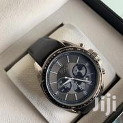 Black Leather Hugo Boss Watch | Watches for sale in Greater Accra, Adenta Municipal